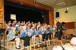 Orchestr Harmonie 1872 v Libici nad Cidlinou.