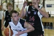 Postoupí? Basketbalisté Kolína už dnes mohou postoupit do finále druhé ligy.