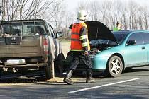 Nehoda u Nové Vsi I. 2.4. 2009