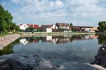 Rybník Haltýř je kompletně opravený.