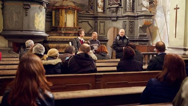 V kostele sv. Havla ve Štolmíři.