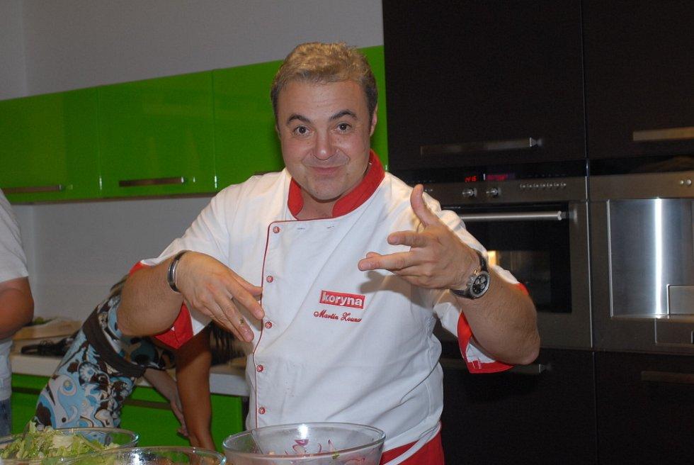 Martin Zounar vařil milánskou panenku