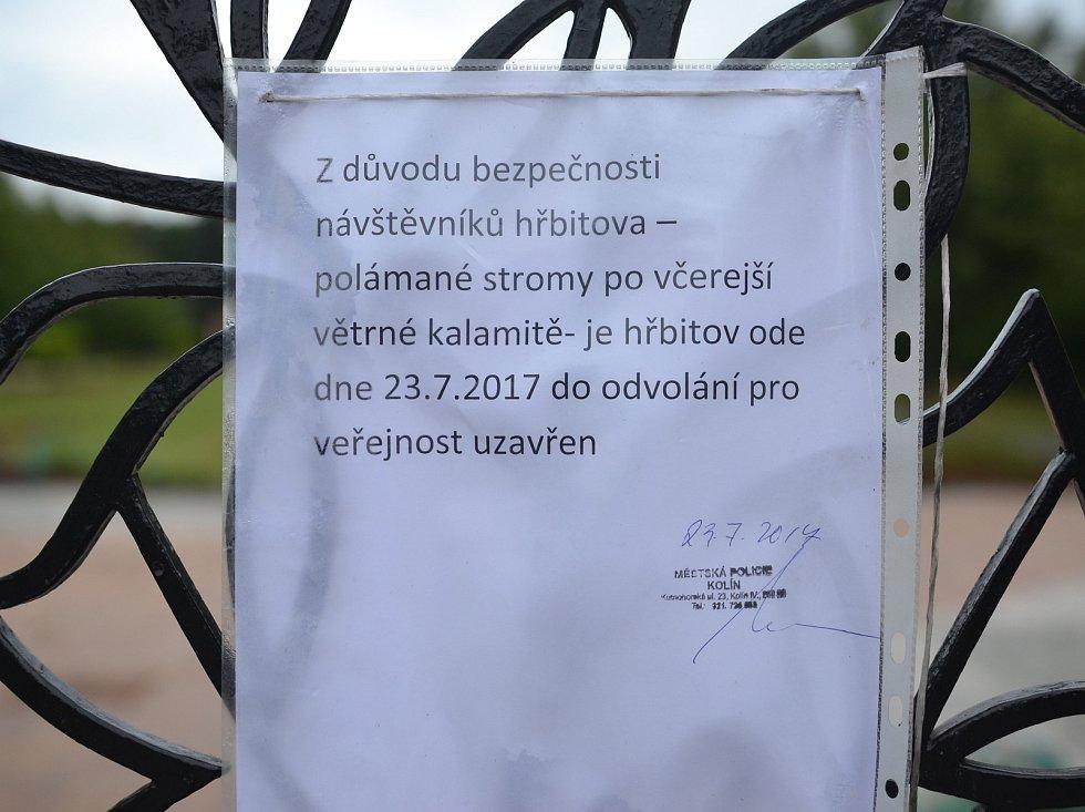 Kolínský hřbitov je uzavřený.