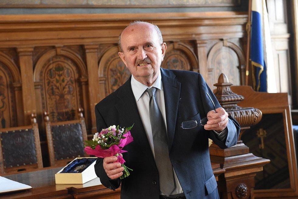 Josef Čáslava převzal Cenu města