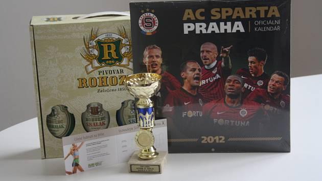 Vítěz 3. kola dostal kalendář od sportovního krámu Sporttrio, karton piv z pivovaru Rohozec, volnou vstupenku do fitnessu Paty (cvičení SLIM BELLY) a pohár od firmy Sportforte.