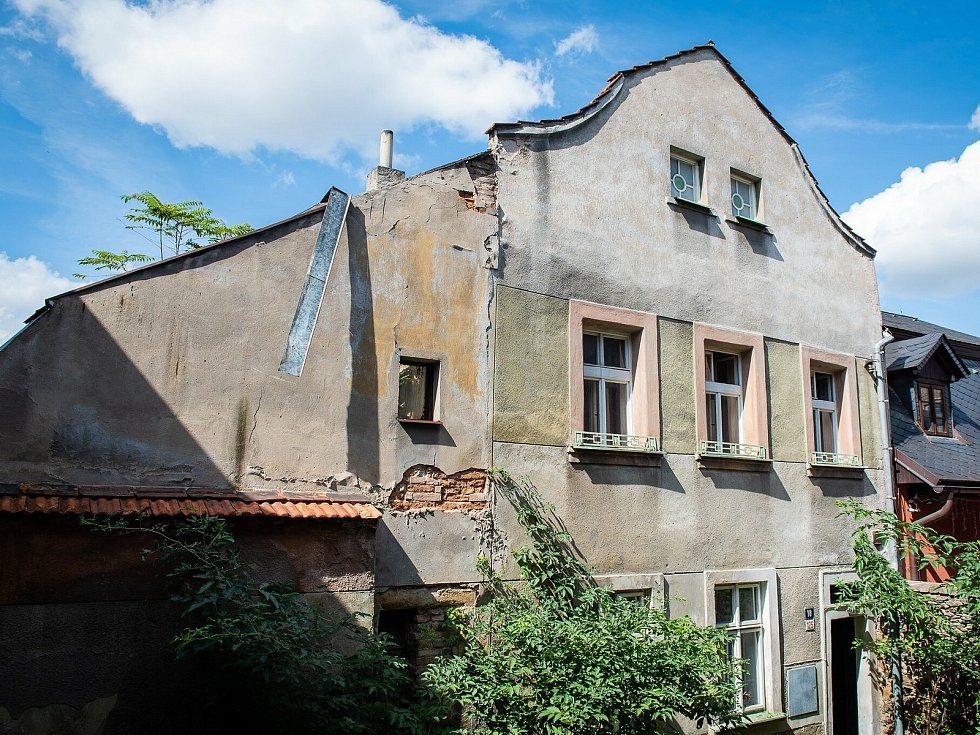 Rabínský dům v ulici Na Hradbách v Kolíně.