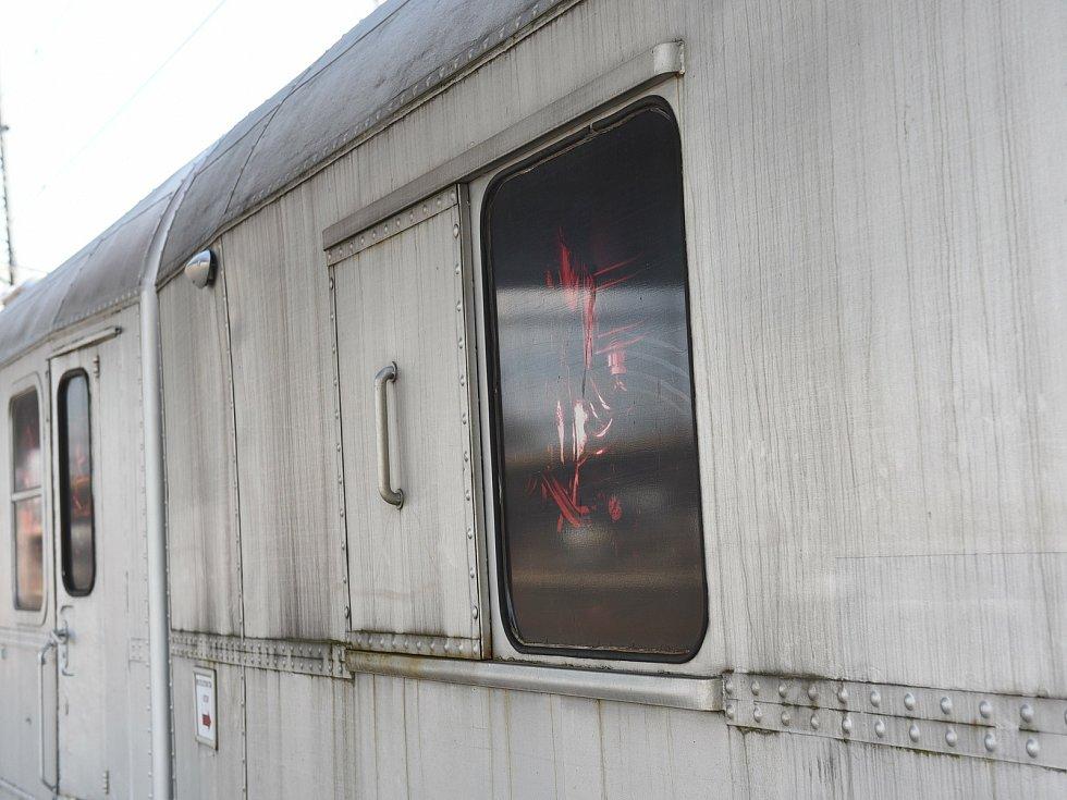 Revolution train v Kolíně.