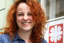 Ředitelka farní charity Kolín Lucie Růžková Rybárová.