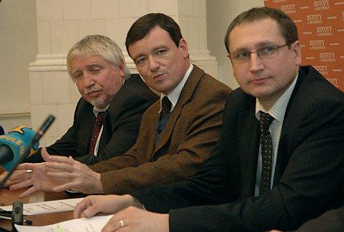 Vyjednavači ČSSD s kandidátem na hejtmana Davidem Rathem