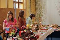 Velikonoční výstava ZŠ Miloše Šolleho Kouřim