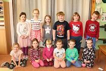Děti v Mateřské škola ve Viticích.