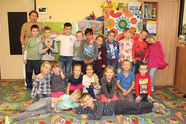 1. C  1.základní školy Kolín střídní učitelkou Marcelou Hubáčkovou