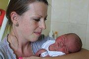 Eliška Kristenová se narodila 19. září 2017 s mírami 50 centimetrů a 3305 gramů. K pětileté sestřičce Simonce si ji domů do Kovanska odvezli rodiče Jiřina a David.
