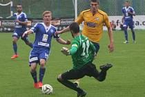 Z utkání FK Kolín - Varnsdorf (0:5).