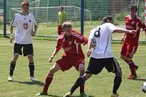 Z utkání Polepy - Hradec Králové B (3:3).