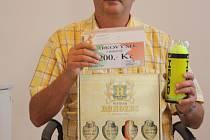 Vítěz prvního kola Pavel Kruliš, jehož zastupoval otec Ladislav,  získal dárkový šek v hodnotě 200,-Kč do pizzeria Týna, volnou vstupenku na cvičení SlimBelly (zabiják břicha), tenisové míčky ze sportovního obchodu Sporttrio a karton piv značky Rohozec.