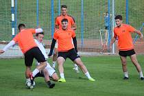Divizní fotbalisté Kolína se pobavili u báčka