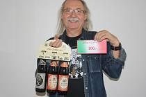 Zdeněk Hejduk vyhrál karton piv značky Rohozec a poukázku v hodnotě 200,- Kč do kolínské pizzerie Marilyn.