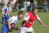 Z utkání Polepy - Čáslav B (1:0).