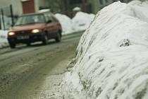Sníh na Kolínsku
