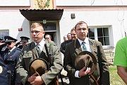 V Drahobudicích se konaly dvě významné oslavy.