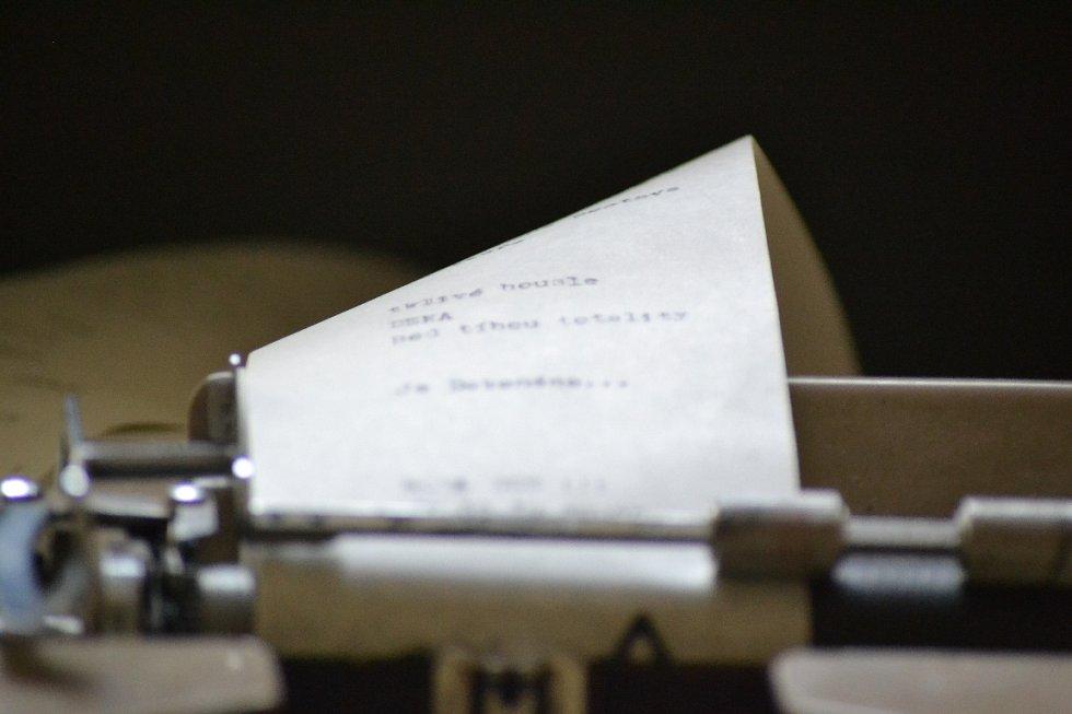 Dopis nevinnému v zásmuckém klášteře je dopsaný