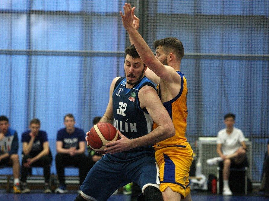 Čtvrté utkání semifinále NBL BC Kolín - Opava (108:84).