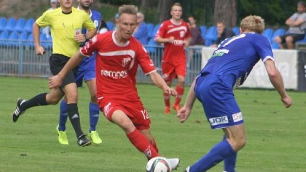 Z utkání Kolín - Pardubice B (0:0, PK 2:4).