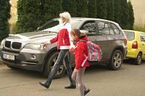 Z návratu dětí do 4. základní školy v Kolíně po skončení nouzového stavu.