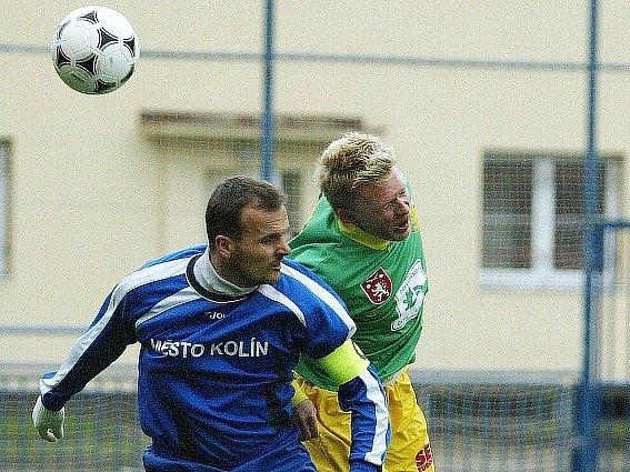 Ladislav Doseděl (vpředu) zažívá v poslední době výborné časy.