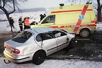 Smrtelná nehoda u Kouřimi 13.1. 2009.