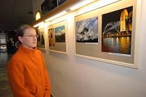 V kolínském kině vystavuje Petr Ledvina