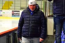 Hokejový trenér Petr Martínek.