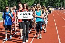 Kolínské sportovní dny základních škol - 1. den
