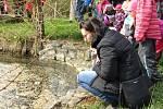 Hledání jara v Jestřabí Lhotě.