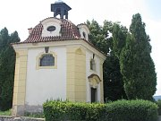 Kaple Panny Marie Pomocné je spíše známá jako Santiniho kaple.