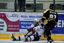 Z utkání II.NHL Kolín - Moravské Budějovice (6:3).
