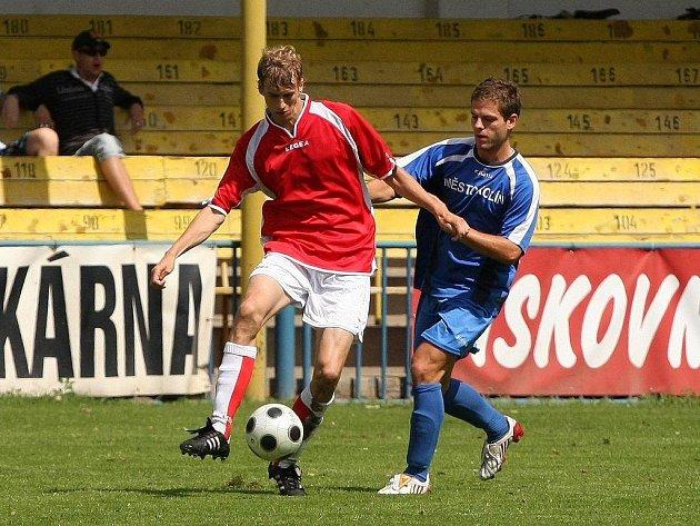 Ivo Svoboda (vpravo) v akci