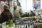 Z výstavy železničních modelů v Pečkách