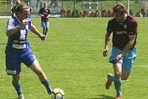 Z utkání FK Kolín - Náchod (2:2, PK 5:4).
