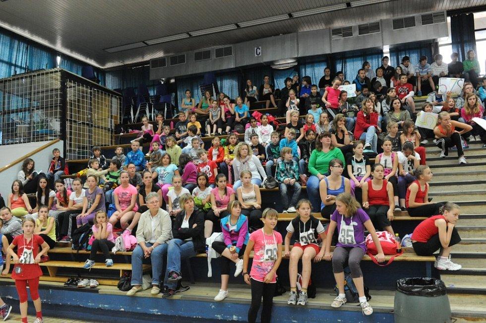 Kolínské sportovní dny - sportovní aerobik a volejbal
