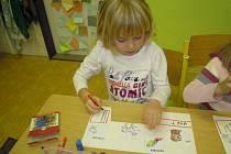 Budoucí školáci tvořili a učili se na téma Afrika
