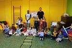 Děti v Mateřské škole v Ohařích.