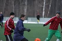 Z utkání Tuchoraz - Stříbrná Skalice (4:0).