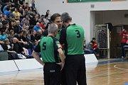 Z utkání BC Geosan Kolín - Svitavy (76:65).