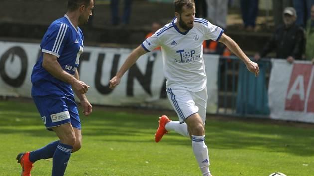 Z utkání FK Kolín - Český Brod (0:1).