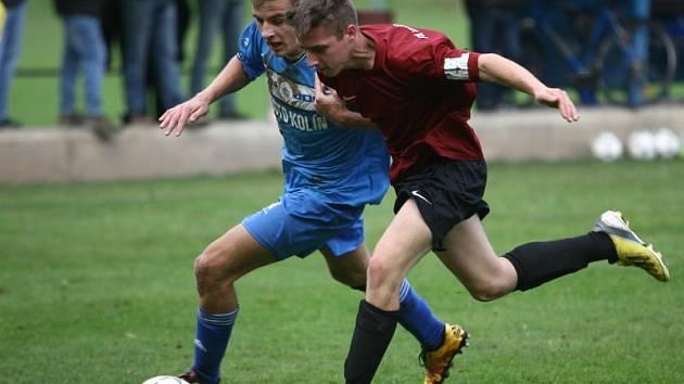 Z utkání FK Kolín - Uhlířské Janovice (9:1).