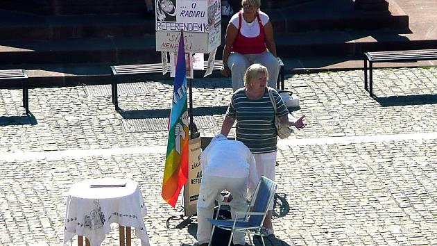 Kolínský aktivista sbírá podpisy proti radaru