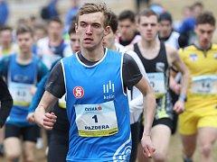 Roman Pazdera skončil na MČR v krosu na druhém místě.