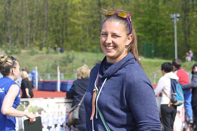 Kateřina Šafránková byla díky zraněnému palci na noze na Polabských závodech pouhým divákem.